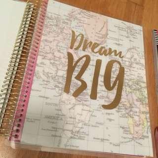 Recollections Creative Yr - Goal Spiral Planner / Agenda