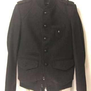 The Kooples Wool Bomber Jacket Size S