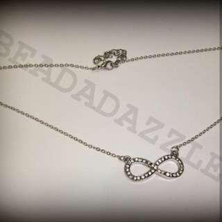Infinity set (Necklace & Bracelet)
