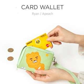 Kakao Friends Card wallet / Mini cross bag / Pouch