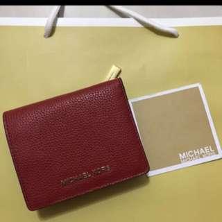 Authentic Michael Kors MK wallet purse pouch coin bag