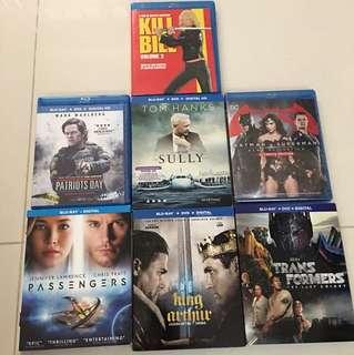 Blu Ray DVD DTS-X Dolby Atmos