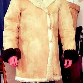 1930 sheepskin coat