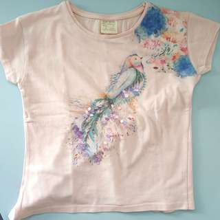 Zara top for girls 4 years old