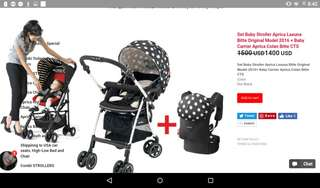 Aprica stroller from japan