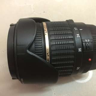 [Used] Canon Tamron 17-50mm F2.8 Non VC c/w lens hood - RM500