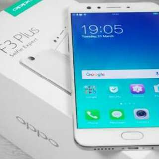 Ready stok oppo F3 plus bisa kredit