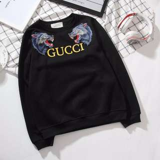 Gucci Long sleeves  sweater 100%authentic