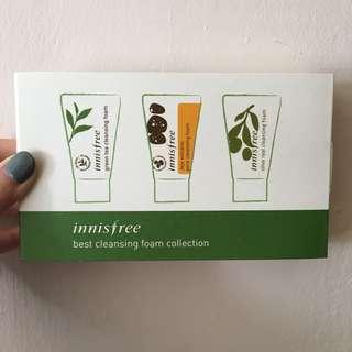 Innisfree Cleanser/Mask Travel Packs
