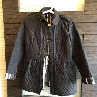 Size 42 Burberry brand Winter / Spring Black Jacket