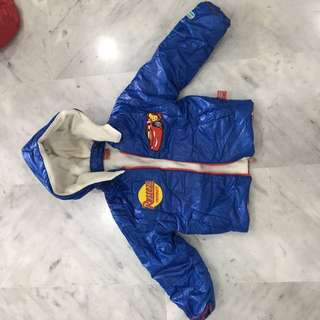 Cold jacket for kid aged 2 to 5 year old