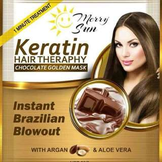 Chocolate Keratin and Collagen