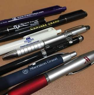 FREE - Pens from my business travels