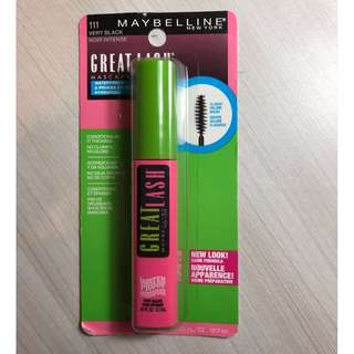 Maybelline Great Lash Waterproof Very Black