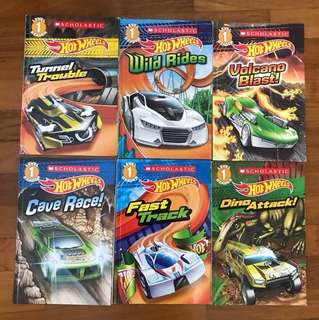 Hot Wheels Early Readers Level 1