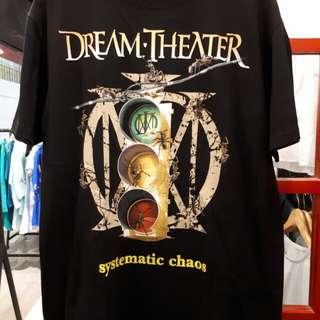 Dream Theatre kaos import baru: all size