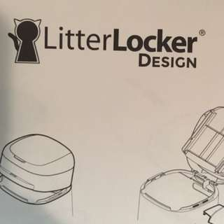 Litter locker without lid