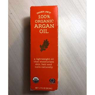 Trader Joe's 100% Organic Argan Oil
