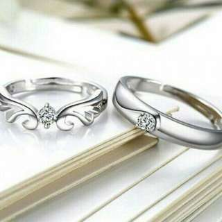 COUPLE_RING SILVER 925