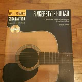 Fingerstye  guitar hal leonard guitar methods