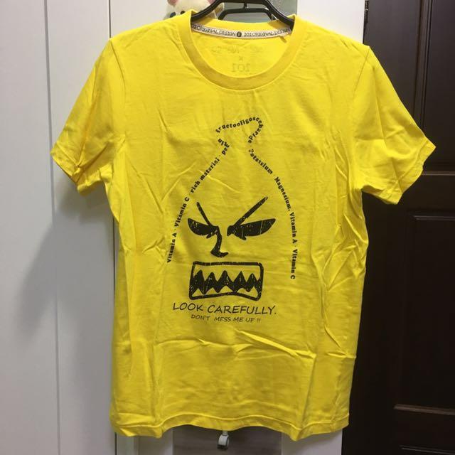 101原創T恤-憤怒的香蕉哥