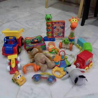 Bundle Of Toys (mostly new)