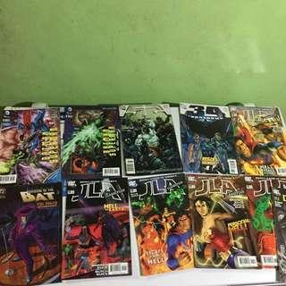 Comics Marvel and DC