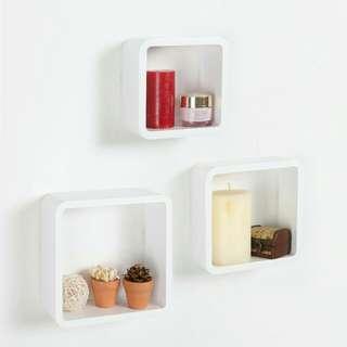 Rak Dinding Melayang/ Floating Shelves Box Set