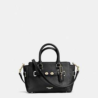 Coach Mini Blake Carryall in Bubble leather