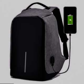 Anti-Theft Backpack with usb charging from PUJ