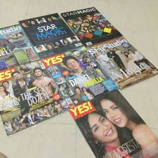 Kathryn Bernardo and Daniel Padilla Magazines Kathniel