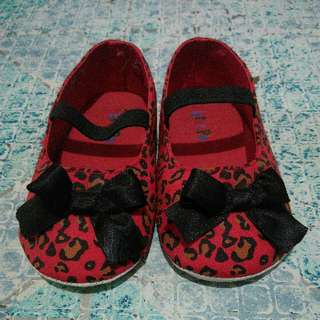 Pitter Pat Red Shoes