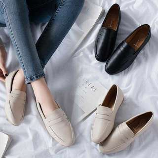 Ladies Casual Slip On Loafers Flats Shoes