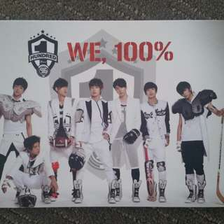 100% 1st mini album