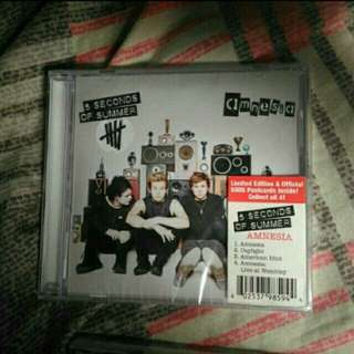 BRAND NEW* 5 Seconds of Summer Amnesia EP CD