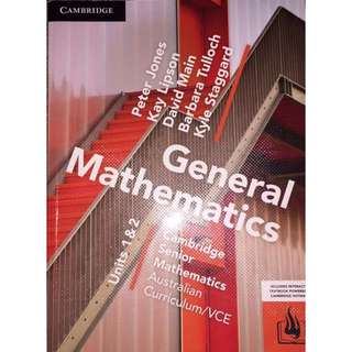 General maths textbook
