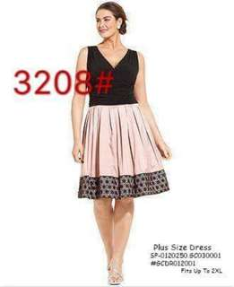 Plussize dress fits upto 2XL