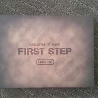 CNBlue First step - 1st album