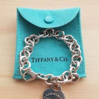 Tiffany Return to Tiffany Heart Tag Charm Bracelet