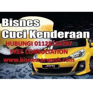 Bisnes CarWash Untuk Dijual/Setup Baru
