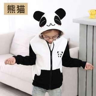 💁🏻Kids Korean Panda Hoodie Jacket🔥