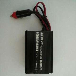 150w power inverter, for car, Bus, van, truck . Application: laptop, Fan, Handphone, tablet and etc