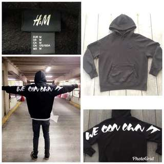 the weeknd h&m size M