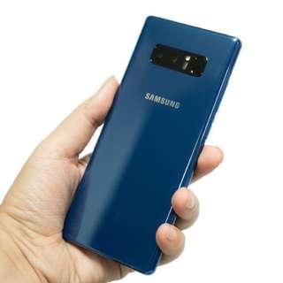 藍色128GB三星note8