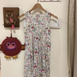 Floral dress from M&S