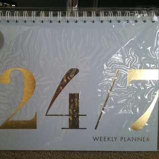 Kikki.K weekly planner
