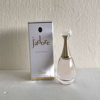 BN Authentic Dior J'adore EDT 5ml