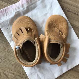 Baby Leather Moccasin Shoe