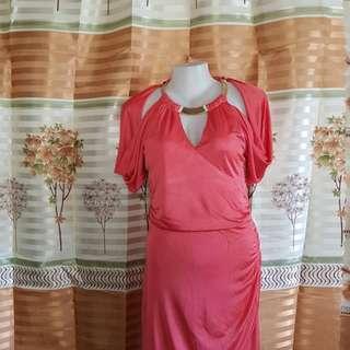 XOXO Peach Dress