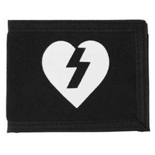 Mystery Heart Canvas Wallet